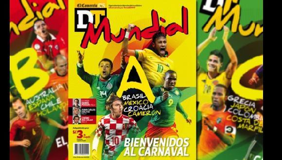 """Revista DT será presentada en charla """"Reportaje al Mundial"""""""