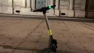 Patinetas eléctricas en Roma, una nueva especie invasora