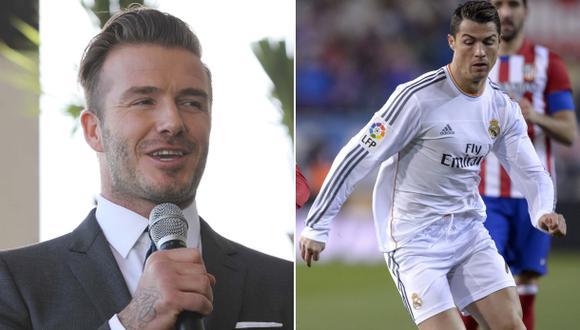 Beckham quiere a Cristiano Ronaldo en su equipo de la MLS