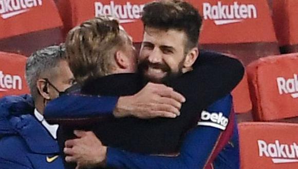 Gerard Piqué tiene contrato con Barcelona hasta mediados del 2024. (Foto: AFP)