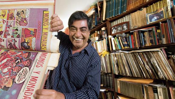 """Nicolás Yerovi es un referente del humor político en el Perú. Es famoso su trabajo en """"Monos y monadas"""", emblemática publicación periodística. (Foto: Juan Ponce Valenzuela)"""
