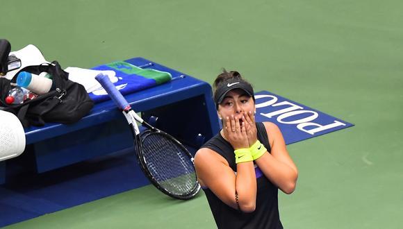 Bianca Andreescu se convirtió en la primera debutante en ganar el US Open | Foto: Agencias