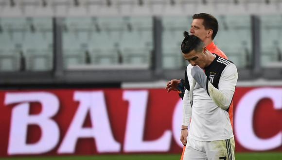Juventus anunció la rebaja salarial de sus jugadores y cuerpo técnico. (Foto: AFP)