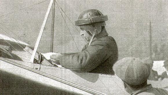En 1910 murió Jorge Chávez, aviador peruano, el primero que sobrevoló los Alpes en avión. (Foto: Wikimedia)