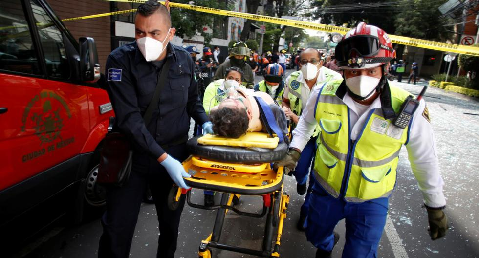 Mexico City: Explosion due to accumulation of gas in building leaves 1 dead and 29 injured