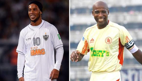 'Cuto' Guadalupe y su imitación a Ronaldinho en el Perú