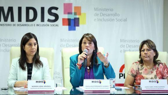 Ministra de Desarrollo niega cierre de Programa Vaso de Leche