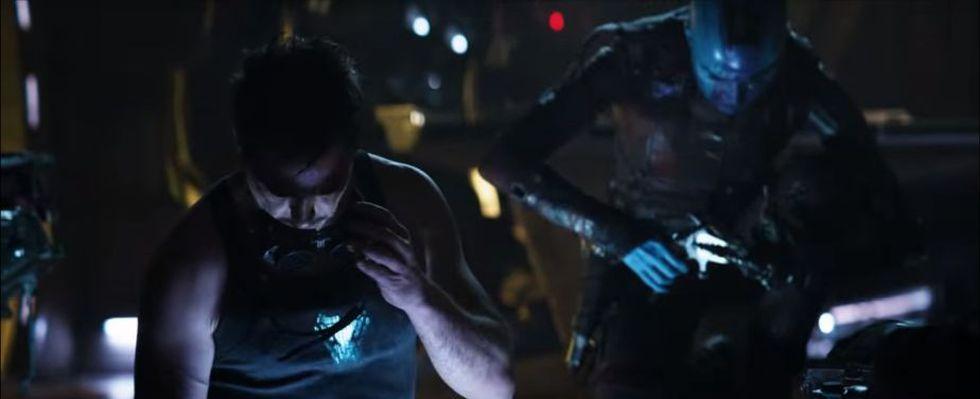 En el espacio exterior, Tony Stark busca la forma de volver a casa (Foto: Avengers: Endgame / Marvel Studios)