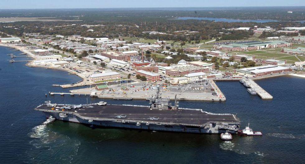 El tiroteo en una base naval en el noroeste de Florida el pasado 6 de diciembre dejó un saldo de tres muertos y varios heridos. El atacante, un soldado saudita, fue abatido por la Policía (AFP).