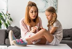 Niños de vacaciones y en cuarentena: ¿Cómo tratar las heridas y quemaduras en casa?
