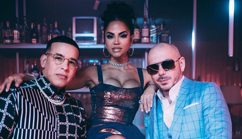 "Natti Natasha muestra adelanto del videoclip del tema ""No lo trates"", junto a Daddy Yanke y Pitbull. (Foto: @daddyyankee)"