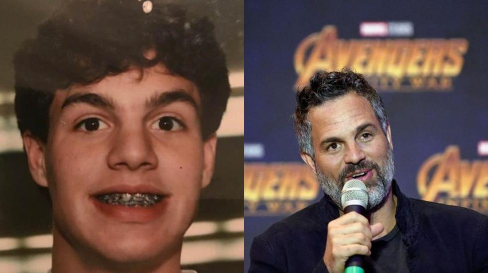 El antes y después del actor Mark Ruffalo. (Foto: Difusión).