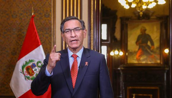 Presidente Martín Vizcarra lamentó recientes decisiones y omisiones del Congreso y dijo que este poder del Estado actuaba a espaldas de las demandas ciudadanas (Foto: Presidencia)