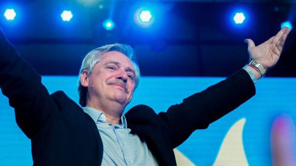El gran triunfo electoral de Alberto Fernández en Argentina generó una fuerte reacción de los mercados. (Foto: Getty Images)