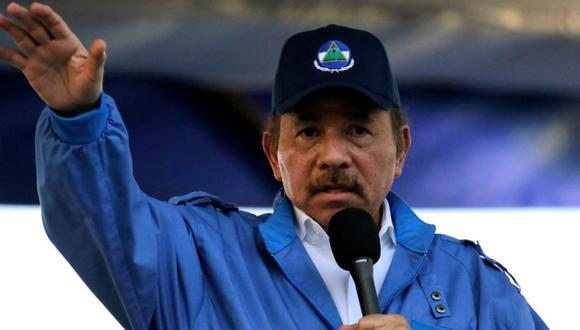 El presidente de Nicaragua, Daniel Ortega, durante la conmemoración del 51 aniversario de la campaña guerrillera Pancasana en Managua. (Foto: Achivo/ AFP / INTI OCON).