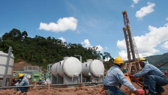 Producción de hidrocarburos en la selva del país.