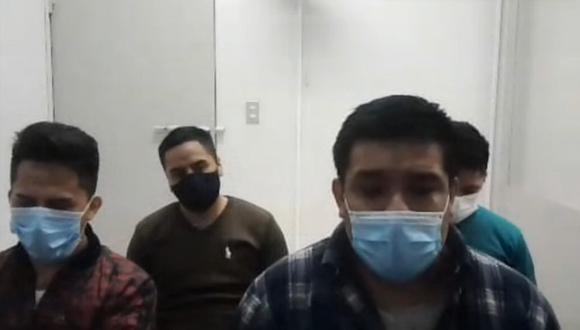 La banda fue sentenciada por un tribunal del Callao. (Foto: Corte Superior de Justicia del Callao)