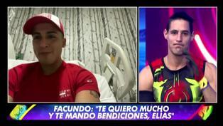 """Facundo González a Elías: """"Sabes que te quiero mucho, te mando muchas bendiciones y pronto estarás acá"""""""