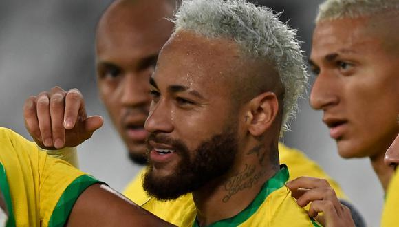 Neymar suma dos goles en la Copa América, uno se lo hizo a Perú en la fase de grupos. (Foto: AFP)