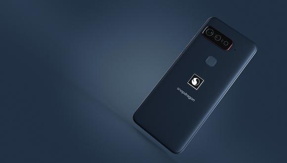 Así es el nuevo celular de Qualcomm y Asus. (Imagen: Qualcomm)