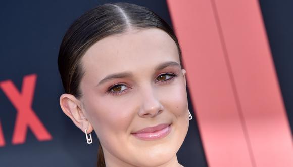 """Millie Bobby Brown en la premiere de """"Stranger Things 3"""". La actriz adolescente tendrá su próximo rol en una película también para Netflix. Foto: AFP."""