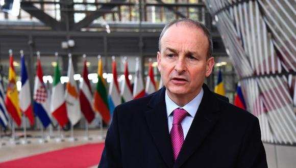 El primer ministro de Irlanda, Michael Martin. (Photographer: Geert Vanden Wijngaert/Bloomberg)