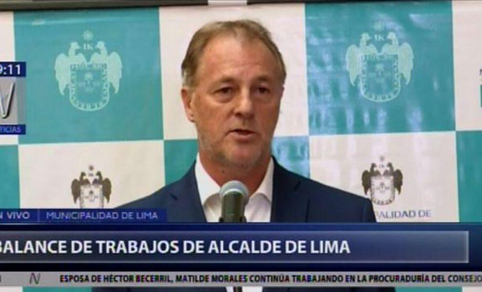 Alcalde de Lima informó que han encontrado 26 buses del Metropolitano que no circulaban (Captura: Canal N)