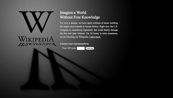 """Para Wikipedia sentencia de derecho del olvido es """"censura"""""""