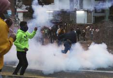 Policía dispersa manifestación indígena en Quito ante el Consejo Electoral | FOTOS