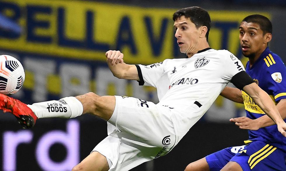 Boca vs. Mineiro por octavos de la Libertadores | Foto: AFP