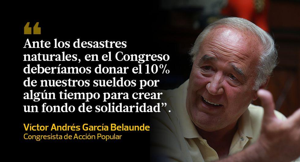 Huaicos Y Lluvias Las Reacciones De Los Políticos Frases