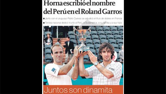 Así ocurrió: En 2008 Luis Horna gana el título de Roland Garros
