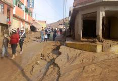 Tacna: disponen traslado de maquinaria y envío de ayuda a zonas afectadas por caída de huaico