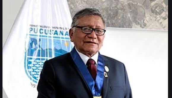 Alcalde de Pucusana falleció este lunes. (Foto: Municipalidad de Pucusana)