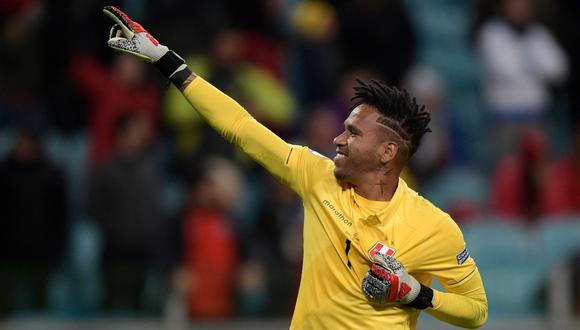 Pedro Gallese fue convocado en la selección peruana para el inicio de las Eliminatorias rumbo a Qatar 2022 | Foto: AFP