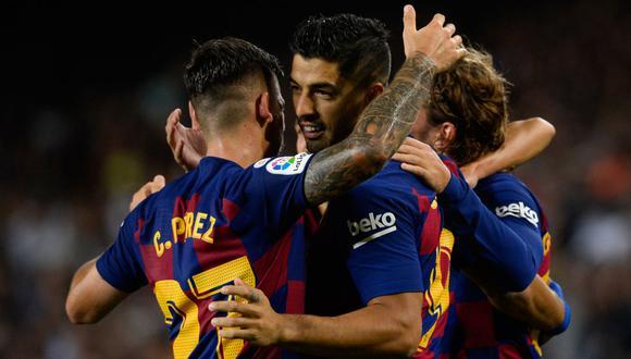 Barcelona se enfrentará a Borussia Dortmund por la Champions League. Conoce los horarios y canales de todos los partidos de hoy, martes 17 de septiembre. (AFP)