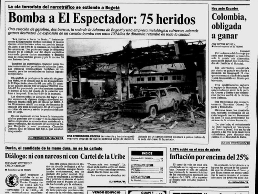 Por el día y la hora, sábado a las 7 de la mañana, no hubo más víctimas. Foto: Archivo EL TIEMPO