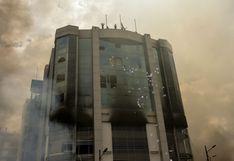 Ecuador EN VIVO: Manifestantes incendian y saquean la Contraloría en violenta protesta en Quito