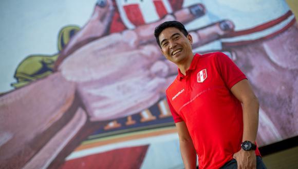 Ernesto Arakaki llegó a la Federación Peruana de Fútbol después de haber estado seis años como gerente de menores de Alianza Lima. (Foto: Fernando Sangama).