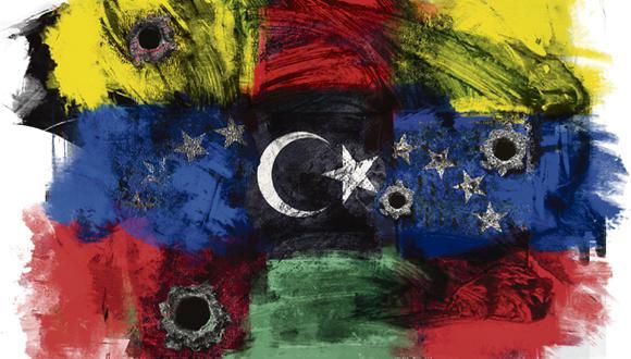 """""""En ambos países reina la anarquía y la criminalidad"""". (Ilustración: Giovanni Tazza)"""