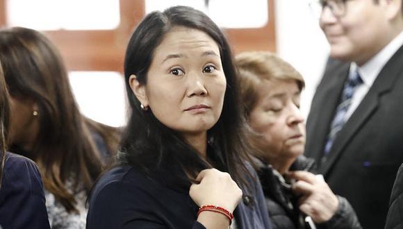 """"""" El fiscal quiere que se entienda que, como Keiko Fujimori era presidenta del partido, ella no solo tenía que saber, sino que, además, dispuso esta acción para obstruir la investigación"""". (Foto: GEC)"""