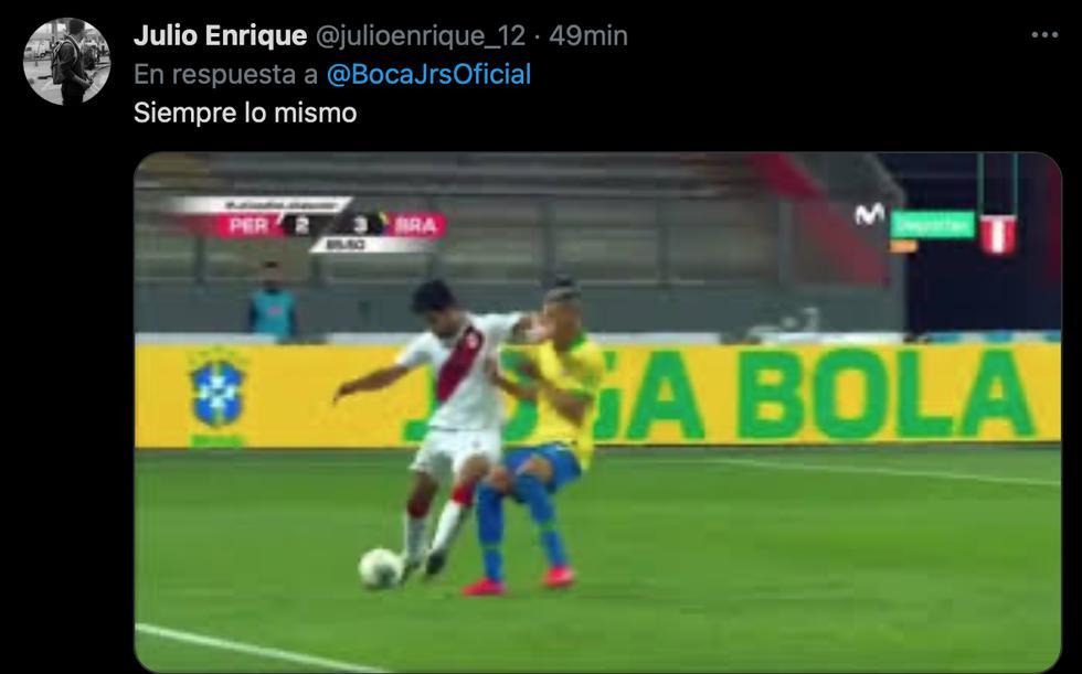 No perdonan a Zambrano: memes tras la expulsión del peruano en el Boca vs. River