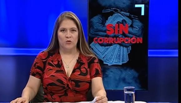 Congresista Yeni Vilcatoma, tercera vicepresidenta del Congreso, conduce un programa que se emite todos los miércoles en el canal del Congreso