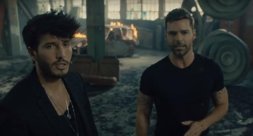 Sebastián Yatra y Ricky Martin estrenan video musical 'Falta Amor'. (Foto: YouTube)