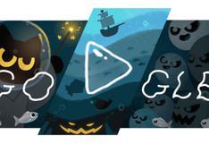 Google celebra Halloween con un divertido doodle de juego