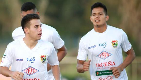 Paul Arano entrenando con el grupo de Bolivia. (Foto: Late)