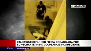 San Miguel: mujer fue agredida por sus vecinos tras denunciar una fiesta