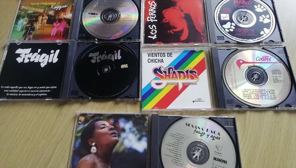 El CD aterrizó en nuestro país primero como una curiosidad o atracción de feria, en 1983.