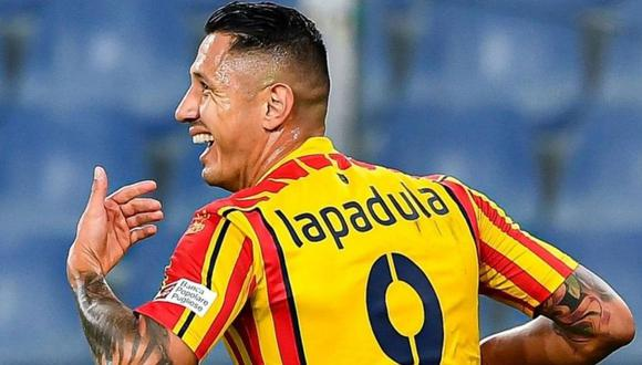 Gianluca Lapadula es jugador de Benevento de la Serie A de Italia. (Foto: Lecce)