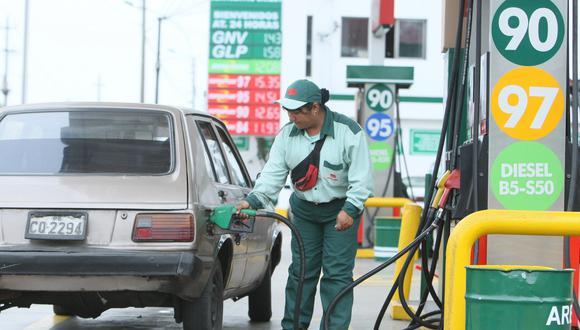 El precio del gas licuado de petróleo (GLP), a granel, de uso industrial, comercial y vehicular subió en 0,7% por kilo. (Foto: GEC)